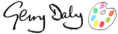 Gerry Daly Art logo